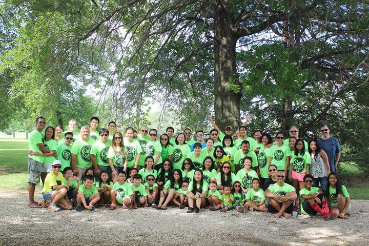 Oak Family 2015 T-Shirt Photo