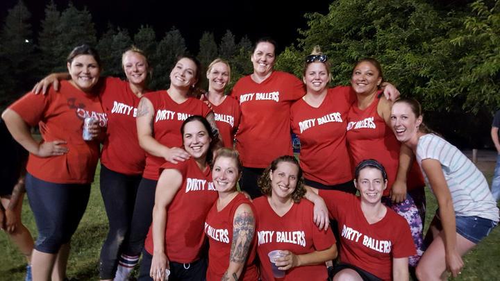 Dirty Ballers T-Shirt Photo