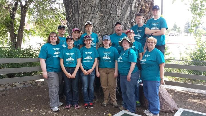Rocky Mountain Mission Trip T-Shirt Photo