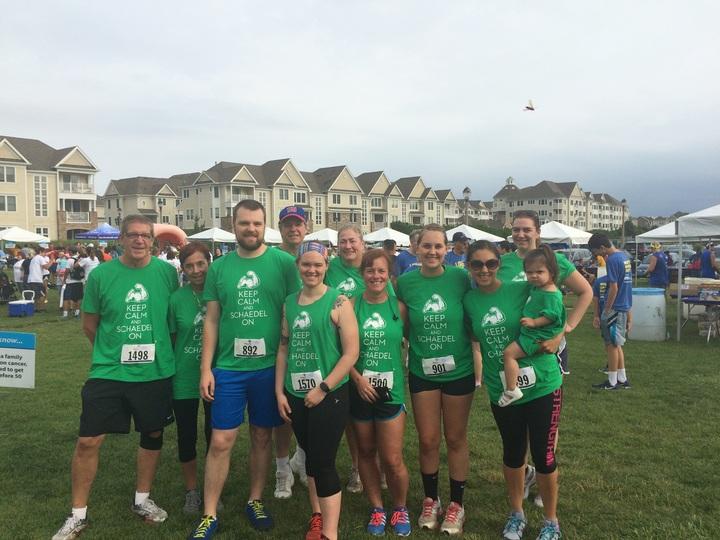 Colon Cancer 5k Run! T-Shirt Photo