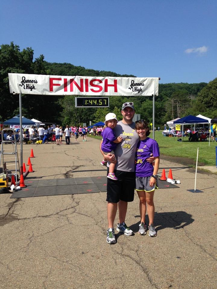 5th Annual Pittsburgh Cure Sarcoma 5k T-Shirt Photo