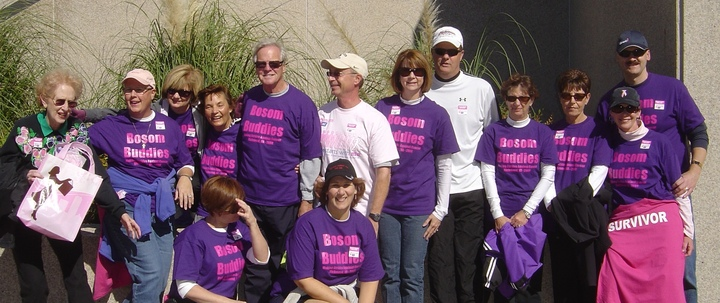 Making Strides Against Breast Cancer   Richmond Va 2008 T-Shirt Photo