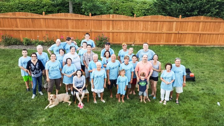 The Houser's 2015 T-Shirt Photo