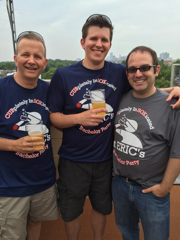 Rooftop Buddies T-Shirt Photo