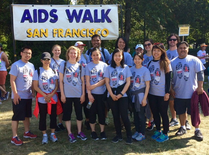 Mbh Architects   Aids Walk San Francisco T-Shirt Photo