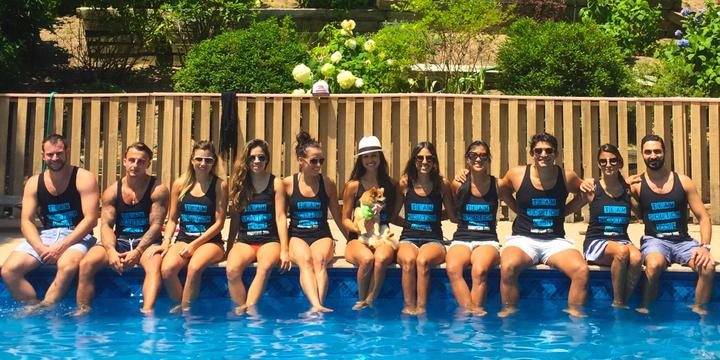 Team Scotch Mist Takes The Hamptons T-Shirt Photo