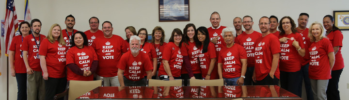 Sacramento County Elections Staff T-Shirt Photo