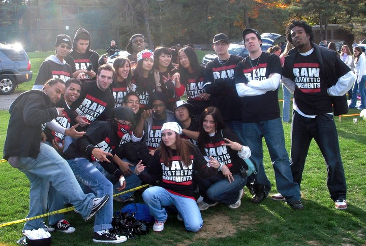 Raw Aesthetic Movements At Penn State's Homecoming Parade T-Shirt Photo