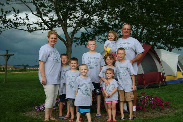 Annual Camp Out T-Shirt Photo