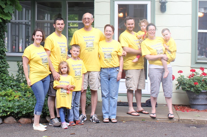 Cram/Rodgers Family Reunion T-Shirt Photo