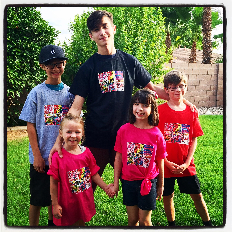 Custom t shirts for leone loves art shirt design ideas for T shirt printing chandler az