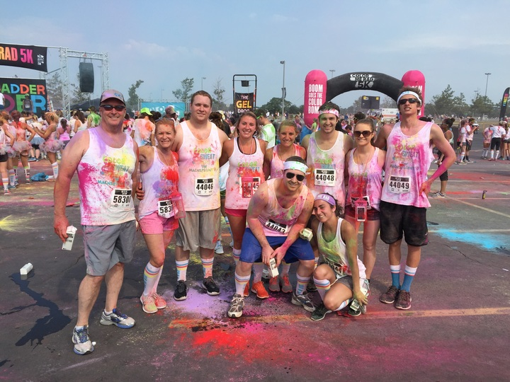 Color Run 2015   Met Life Staduim T-Shirt Photo