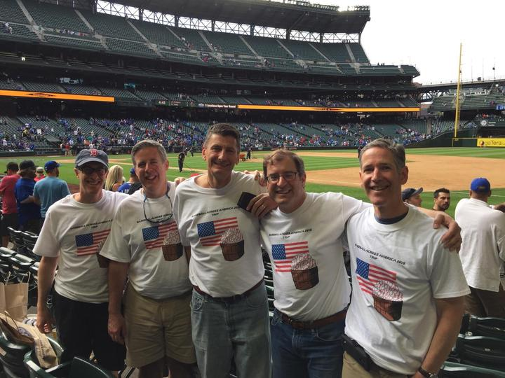 Baseball Across America Takes Seattle! T-Shirt Photo