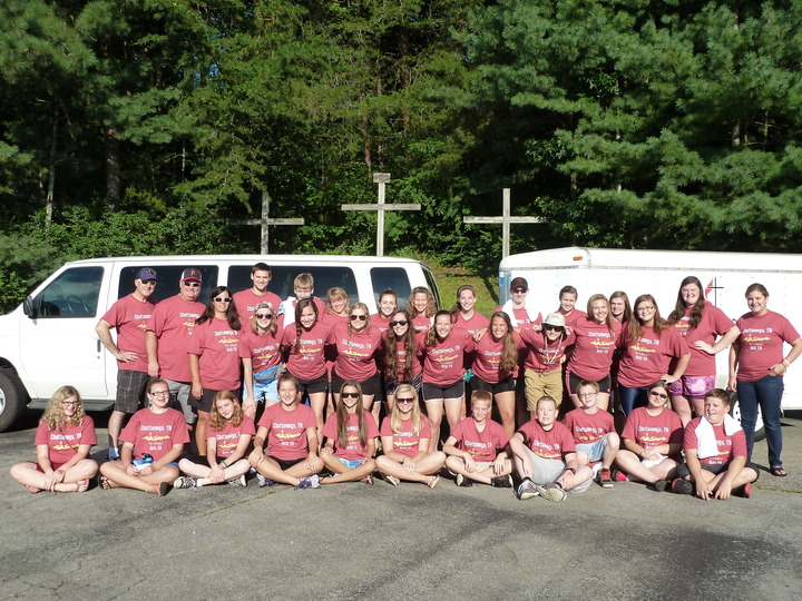 Mission Trip 2015 To Chattanooga, Tn T-Shirt Photo
