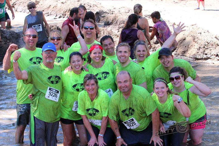 Jsg Tackles The Dirty Dash! T-Shirt Photo