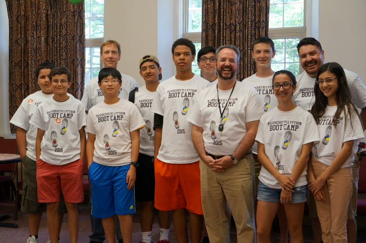 Raspberry Pi Camp T-Shirt Photo