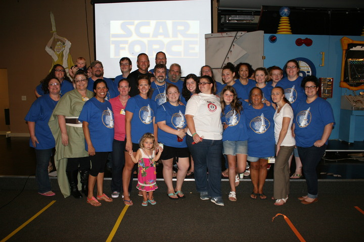 Scar Force Vbs At Freedom Fellowship T-Shirt Photo