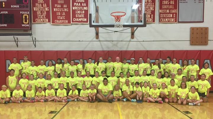 Lady Cardinals Basketball Camp 2015 T-Shirt Photo
