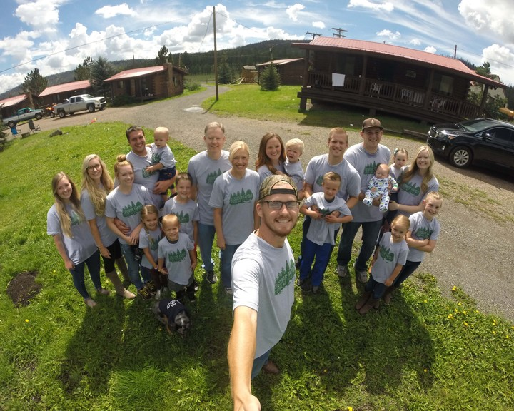 Le Sueur Family Reunion T-Shirt Photo