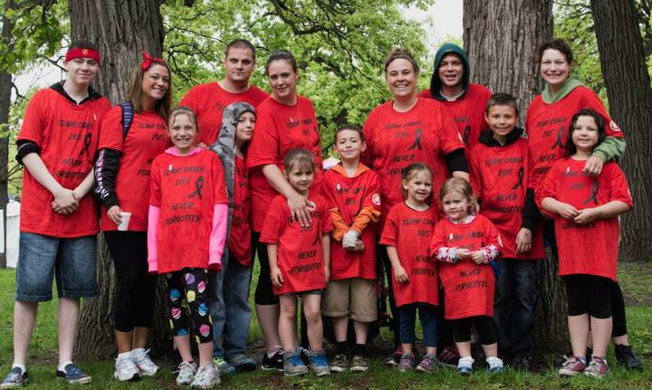 Mn Aids Walk 2015 T-Shirt Photo