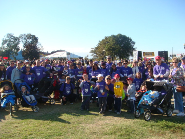 Team Helen Alzheimer's Memory Walk October 18, 2008 T-Shirt Photo