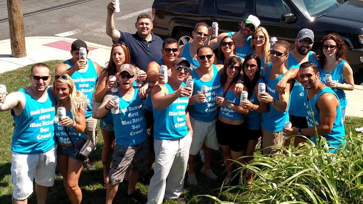 2nd Annual Mac Attack Bar Crawl T-Shirt Photo