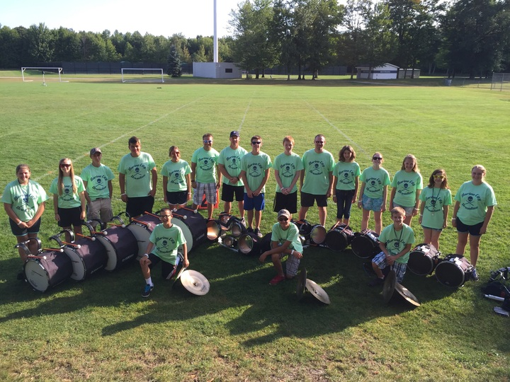 Mc Drumline At Band Camp 2015 T-Shirt Photo
