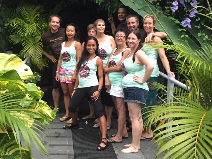 Root 2 Rise Yoga Retreat In Costa Rica T-Shirt Photo