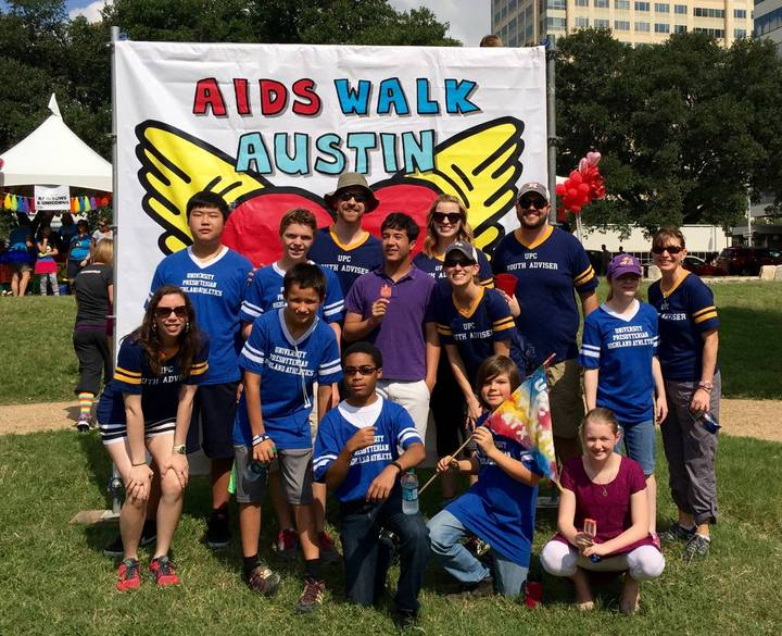 Upc Youth At Austin Aids Walk T-Shirt Photo