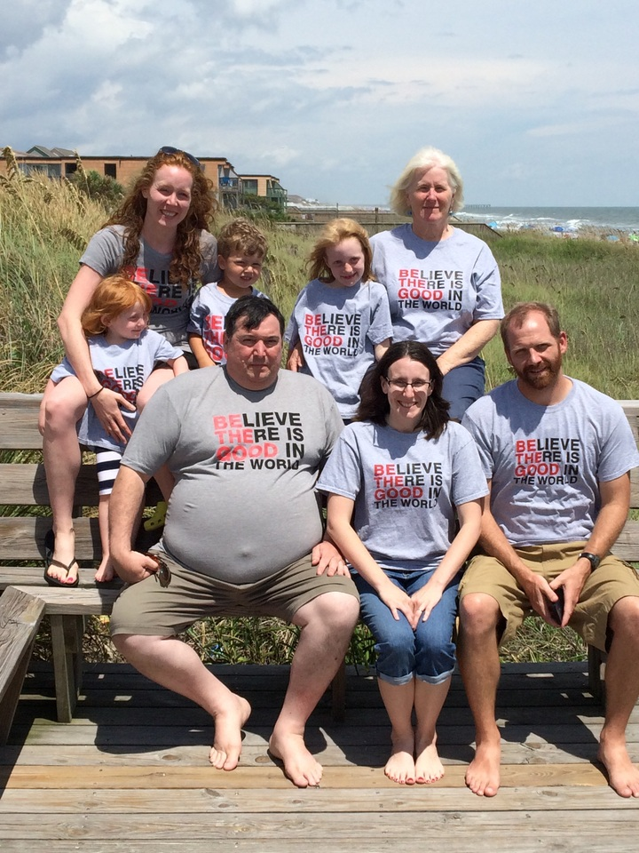 Bishop Family Adopts T-Shirt Photo