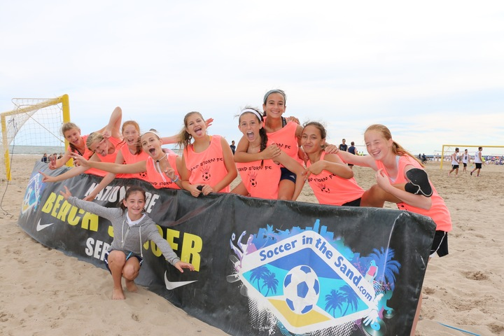 Sand Storm Fc Having A Blast In Their New Custom Ink Tee's! T-Shirt Photo