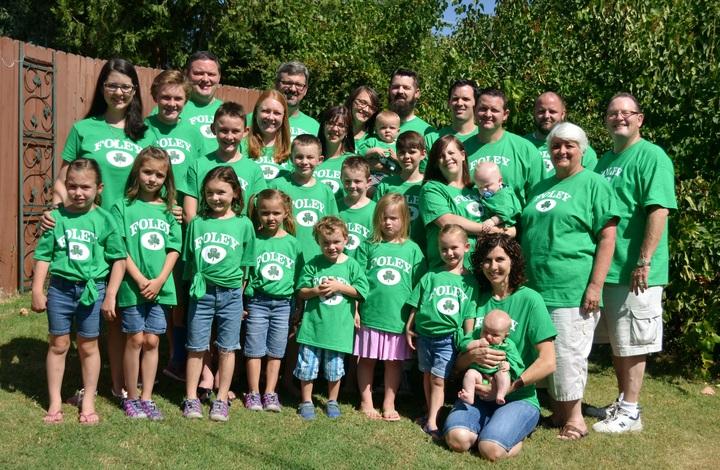 Foley Family Reunion T-Shirt Photo