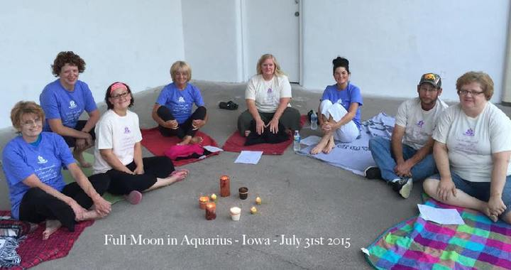 Meditation Night In Our Custom Ink Tees T-Shirt Photo