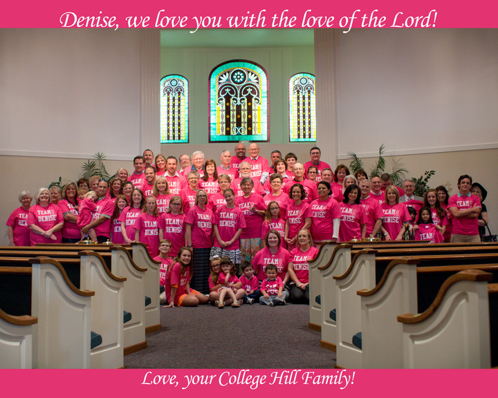 Denise's Prayer Warriors T-Shirt Photo