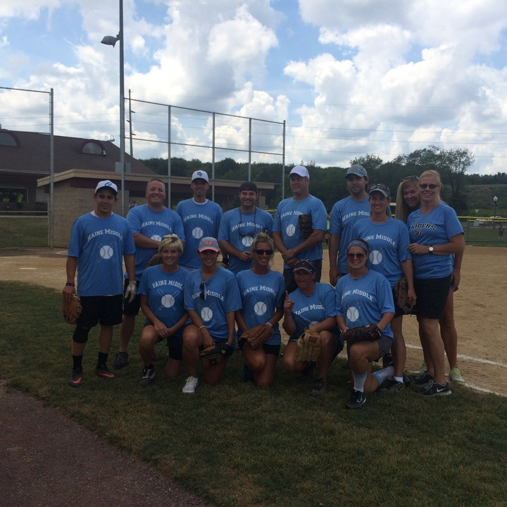 Hms Charity Softball T-Shirt Photo
