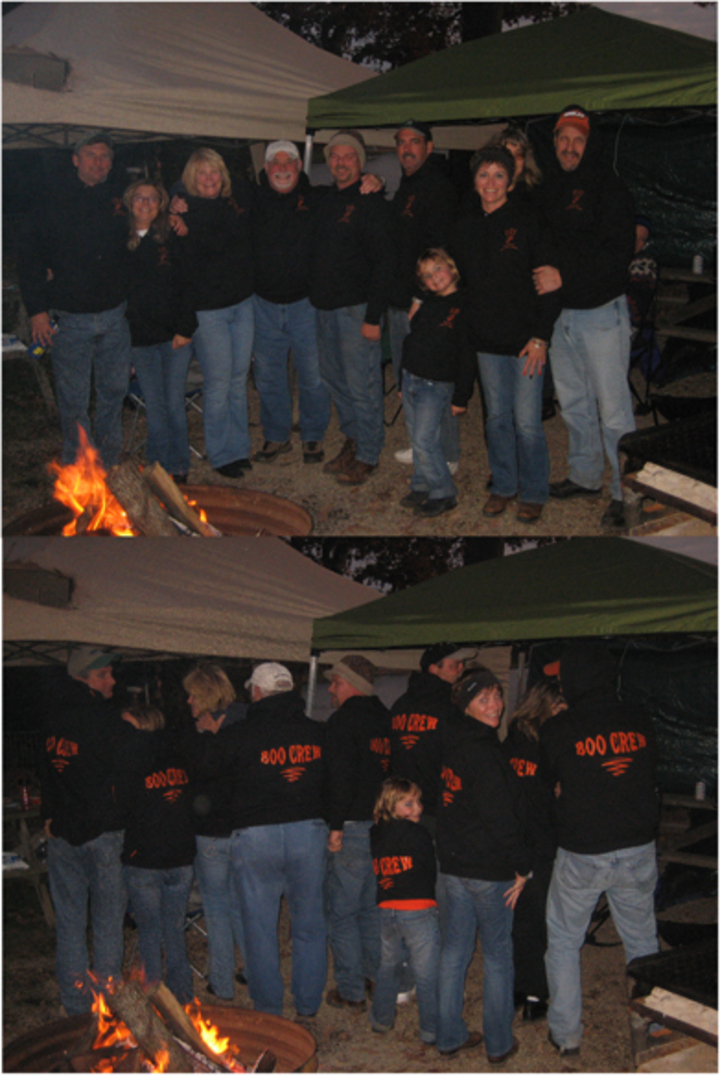 Boo Crew   Halloween Camping 2008 T-Shirt Photo