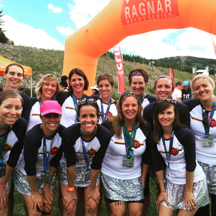 Second Ragnar, Second Place For The Skirts!! T-Shirt Photo