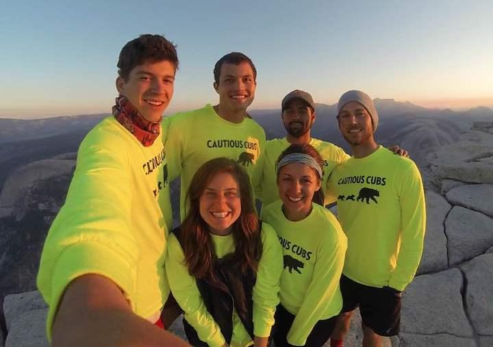 Cautious Cubs Take Over Half Dome T-Shirt Photo