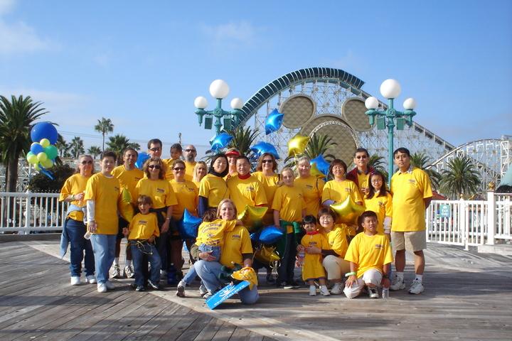 Choc Walk At Disneyland 2006 T-Shirt Photo