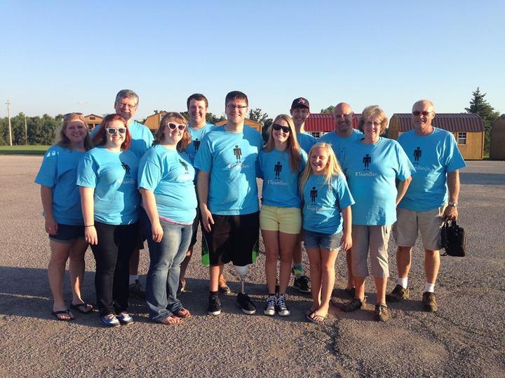 #Team Ben T-Shirt Photo