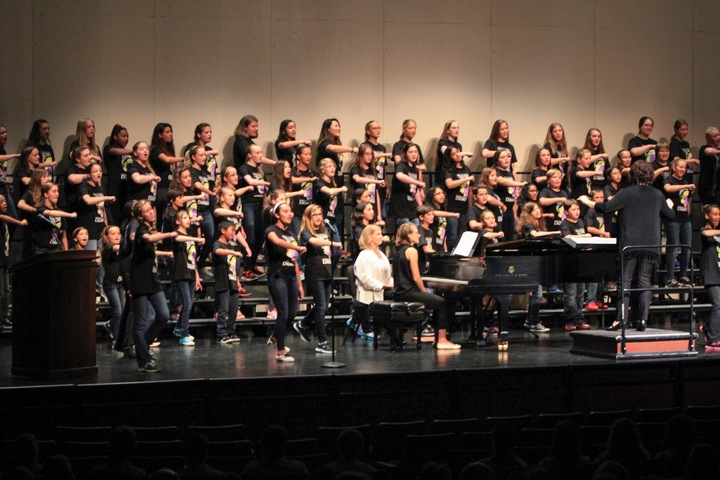 Acda Voices United Children's Honor Chorus 2015 T-Shirt Photo