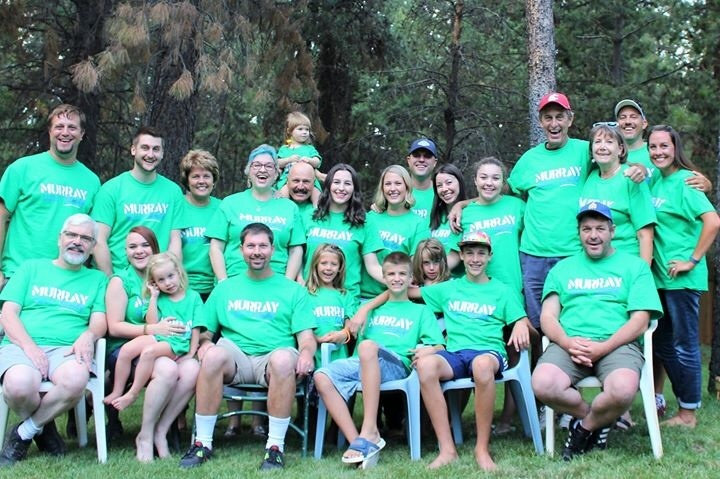 Murray Family Reunion Band 2015 T-Shirt Photo