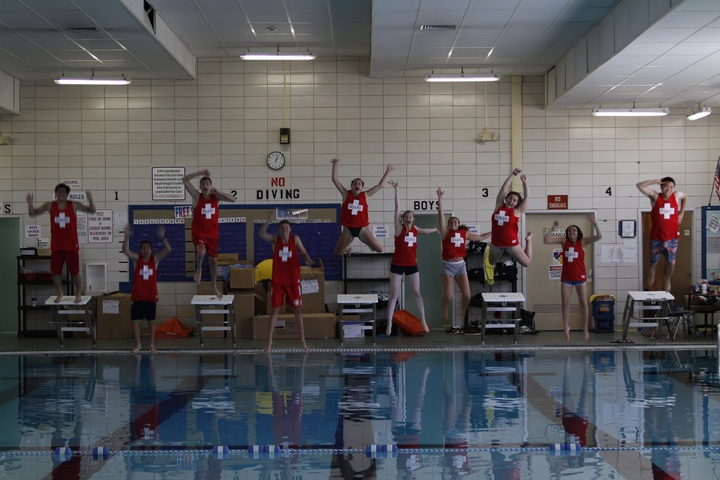 Lifeguard Leap T-Shirt Photo