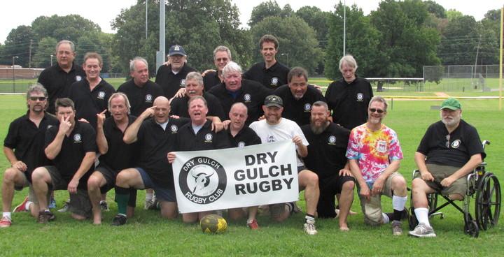 Dry Gulch Rugby Club Reunion T-Shirt Photo