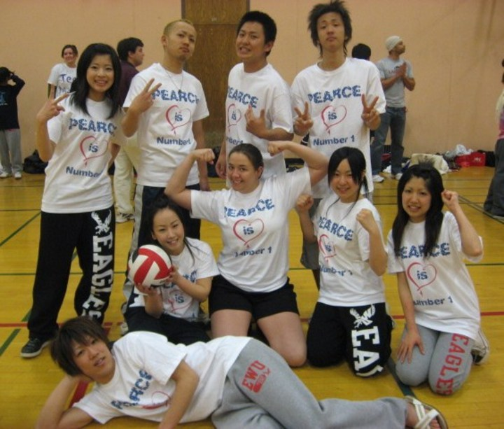 Volleyball Game T-Shirt Photo