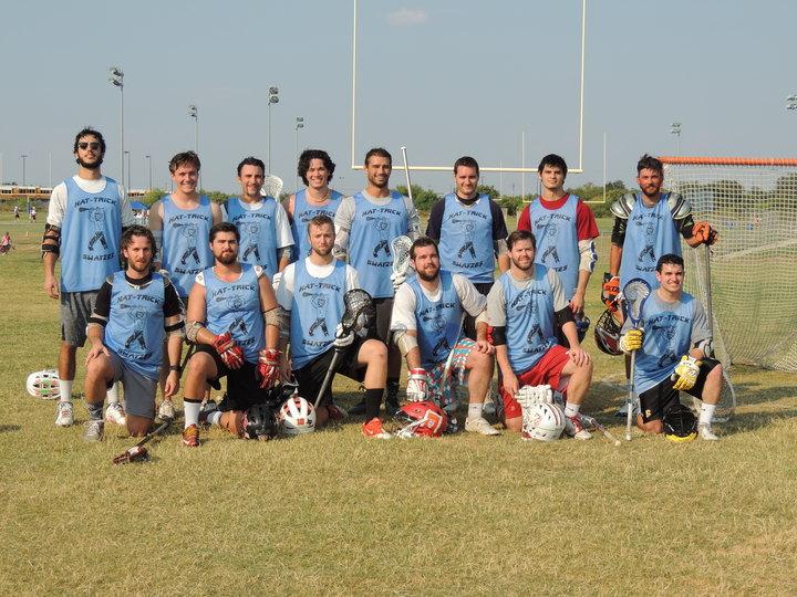 Hat Trick Swayze Lacrosse  San Marcos 7s T-Shirt Photo