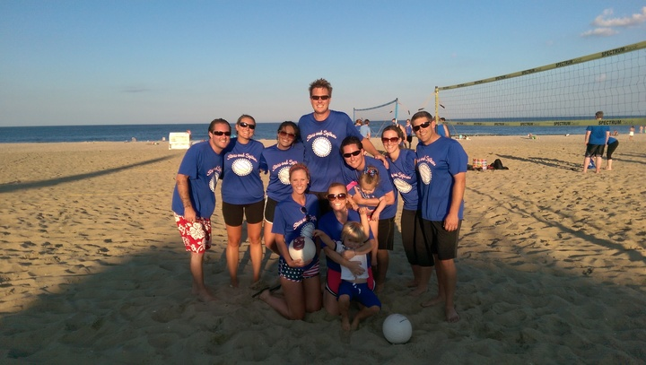 Beach Volleyball  T-Shirt Photo