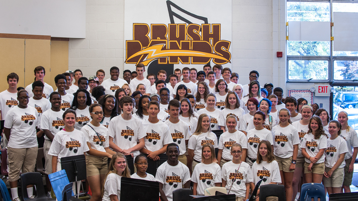 "Brush Marching Band  ""Summer Uniform"" T-Shirt Photo"