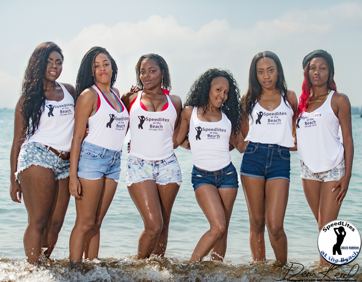 2015 Chicago Speedlites At The Beach Workshop T-Shirt Photo