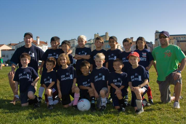 Jedi Knights Play Soccer! T-Shirt Photo